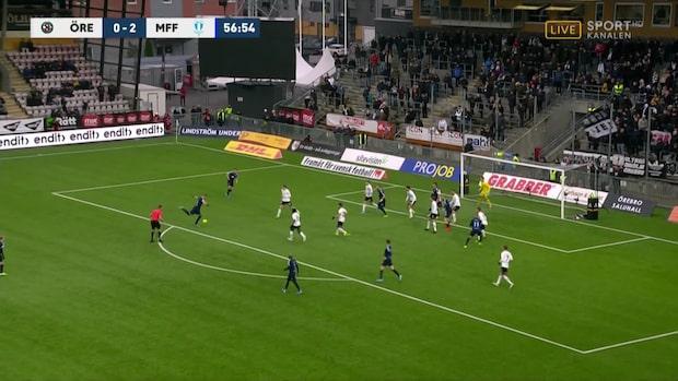 Rieks trycker in 3-0 för Malmö