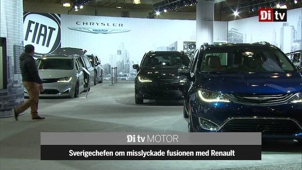 "Fiat Chrysler om misslyckade fusionen med Renault: ""En besvikelse"""