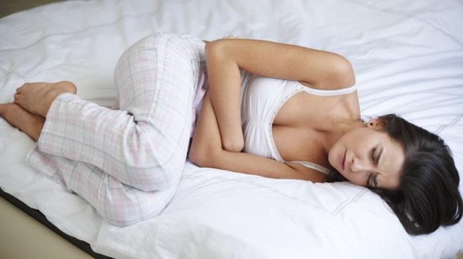 mensvärk när man är gravid