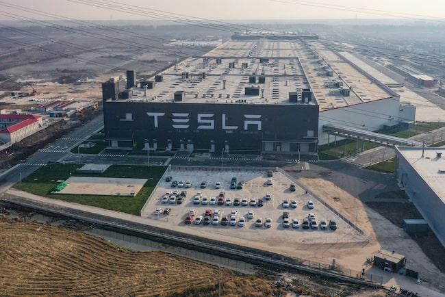 Elon Musk har nyligen också öppnat en bil- och batterifabrik i Shanghai – Gigafactory 3.