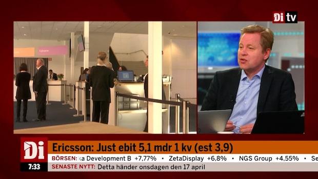 Ericsson: Lyft för Networks-försäljningen