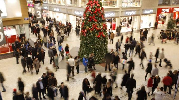 Varor för uppåt en miljard kronor stjäls i julhandeln. Foto: Leif Jacobsson