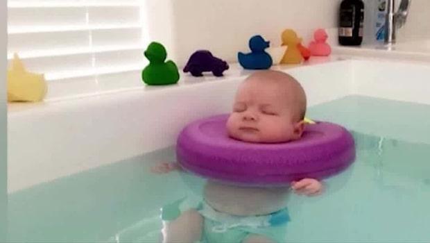 Ett spa för bebisar har öppnat i Perth
