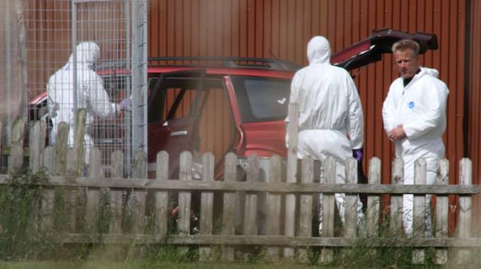 Varbergsmordet 2015. Två 13-åringar tog sig in i en 65-årig mans villa utanför Varberg. Där mördas mannen och huset vandaliseras. Foto: Expressen / EXPRESSEN NIKLAS HENRIKCZON