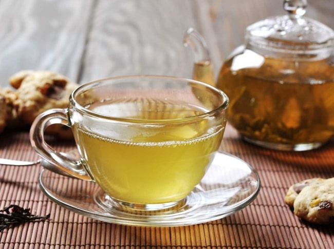grönt te bra för