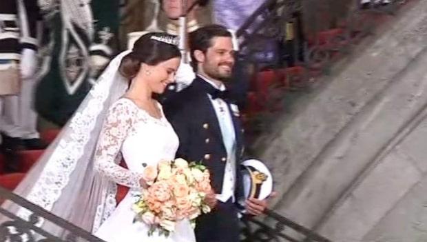 Prins Carl Philip och Sofia sade ja till varandra
