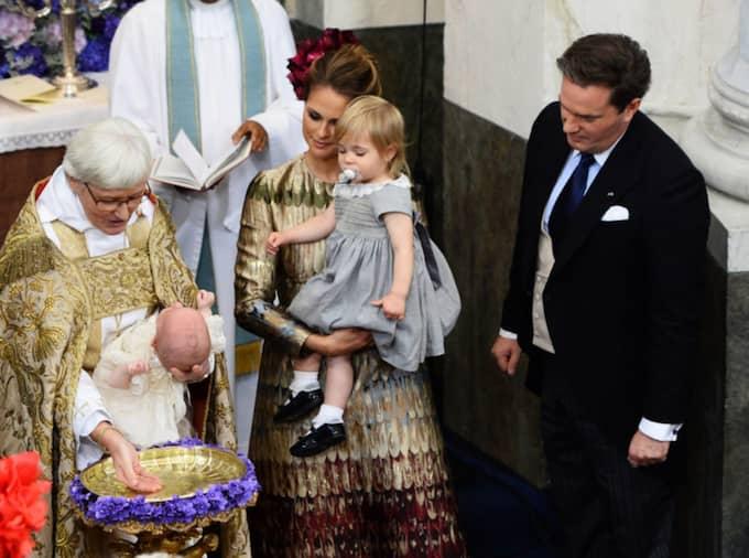 Prinsessan Leonore på prins Nicolas dop. Foto: Pool/GETTY IMAGES