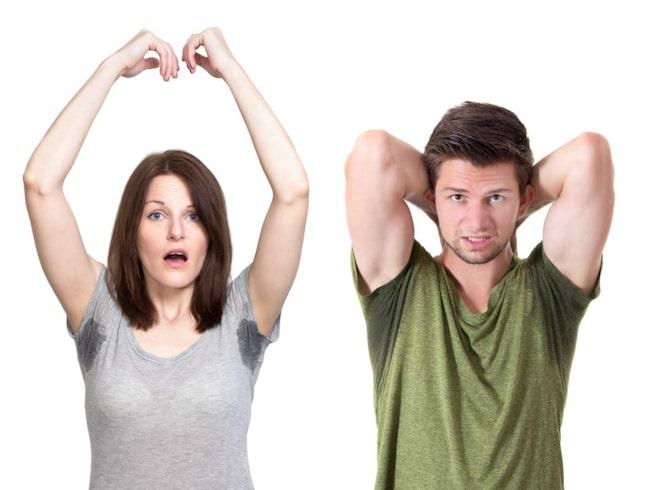 Din svettlukt kan uppfattas som attraktiv av din partner.