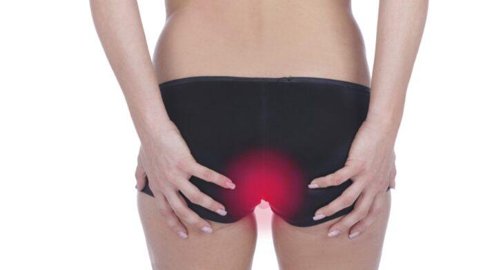 utslag mellan benen