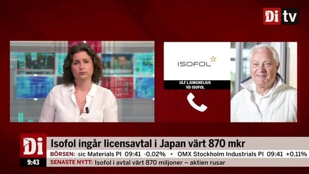 Isofol ingår licensavtal värt 870 mkr