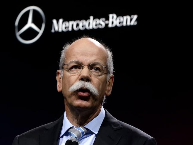 Daimlers vd Dieter Zetsche.