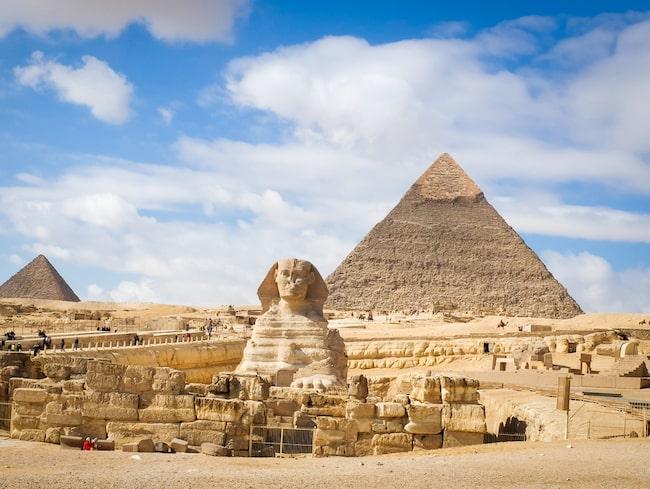 Kairo, Egypten, är vinterns vinnare bland resmålen som trendar i vinter.