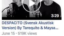 Videon har fått över en halv miljon visningar bara på Facebook Foto: Facebook