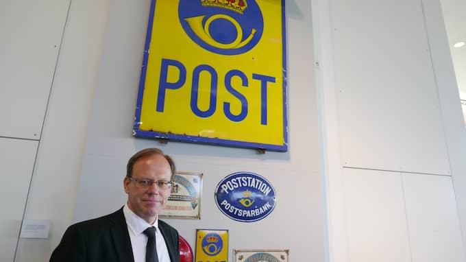 Postnords koncernchef Håkan Ericsson har vädjat till regeringen om att slippa distribuera brev över natten utan att det ska ta två dagar för en försändelse att nå mottagaren. Han vill också ha en friare prissättning på portot. Foto: LEIF BRÄNNSTRÖM