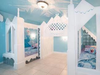 Vilket barn vill inte sova i Elsas isslott?