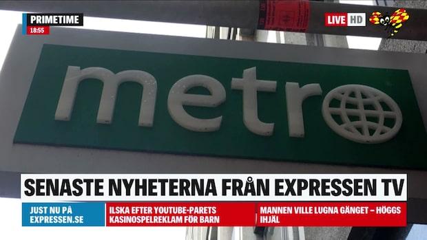 Metros tisdagsutgåva ska stoppas