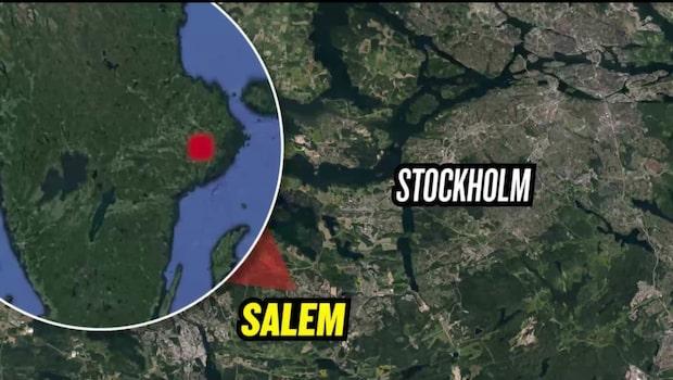 Kraftig explosion i bostadsområde i Salem