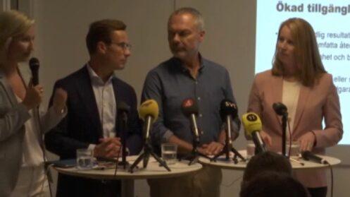 Dagens politiknyheter: Satsningar på vård och skola