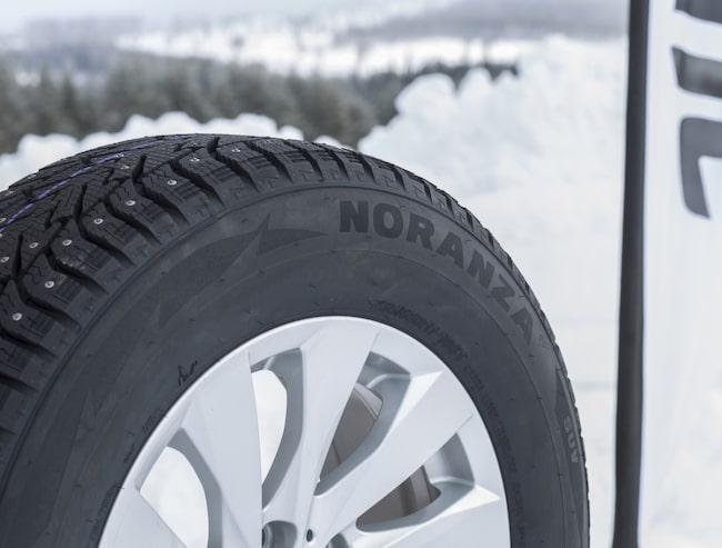 Bridgestones nya vinterdäck Noranza 001 ska vara det bästa dubbdäcket från tillverkaren hittills.