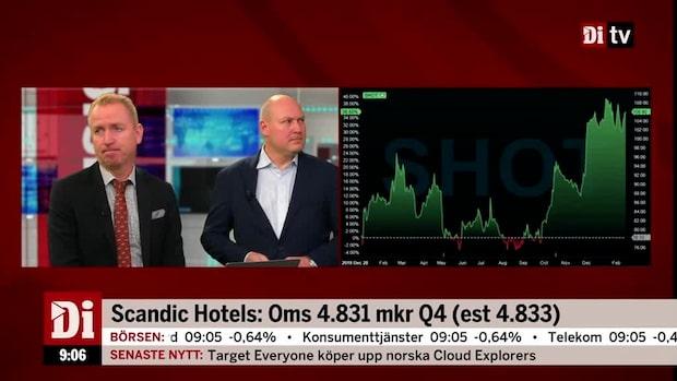 """Olavi om Scandic Hotels: """"Lite lägre än högt skrivna förväntningar"""""""