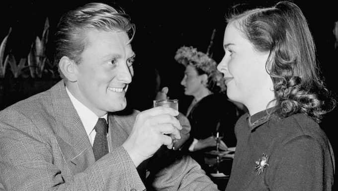 """Bland Diana Douglas – som precis som sin kände son var skådespelerska – mer kända framträdanden syns tv-serierna """"Cityakuten"""", """"Vita huset"""" och """"Våra bästa år"""". Foto: Ed Widdis"""