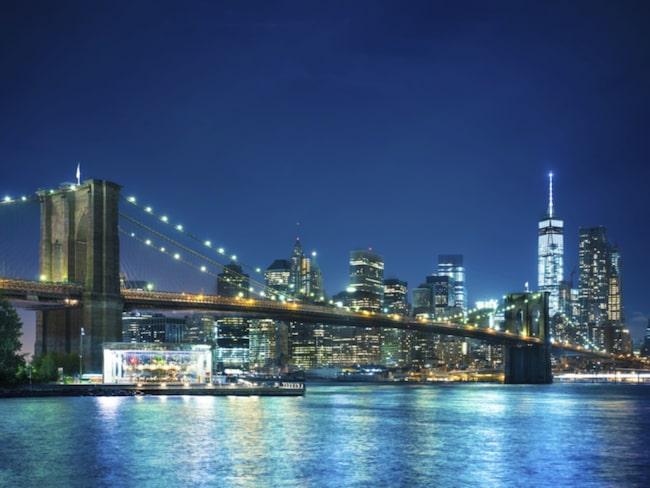 ...men New York har fler invånare per kvadratkilometer.
