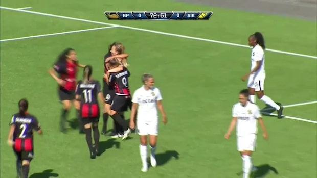 BP vann derbyt mot AIK –avgjorde sent