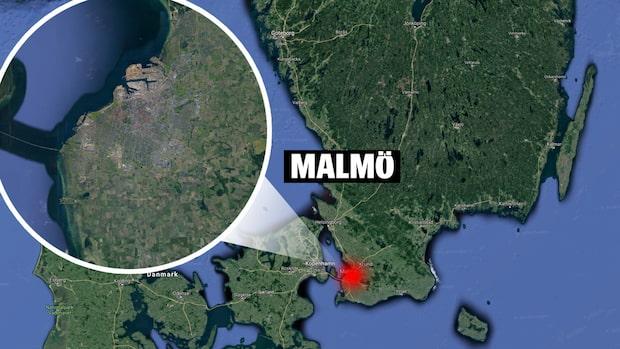 Tre skadade efter skottlossning i Malmö