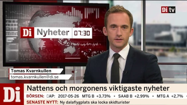 Di Nyheter 7.30 29 maj 2017