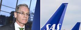 Passagerarna flyr SAS – tappat 86 procent