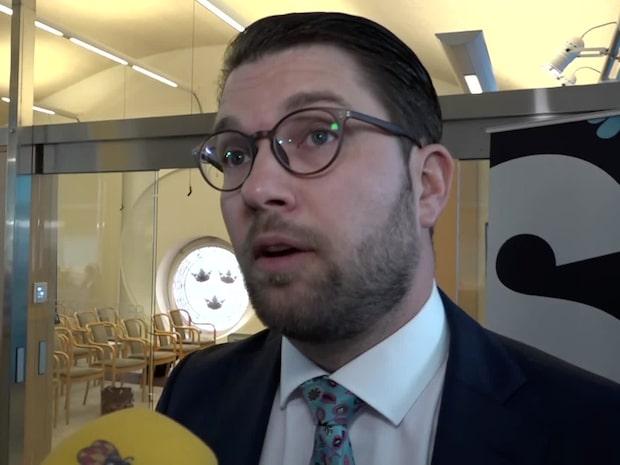 """Åkesson (SD): """"Greta skulle göra mer nytta i skolan än på mynttorget"""""""