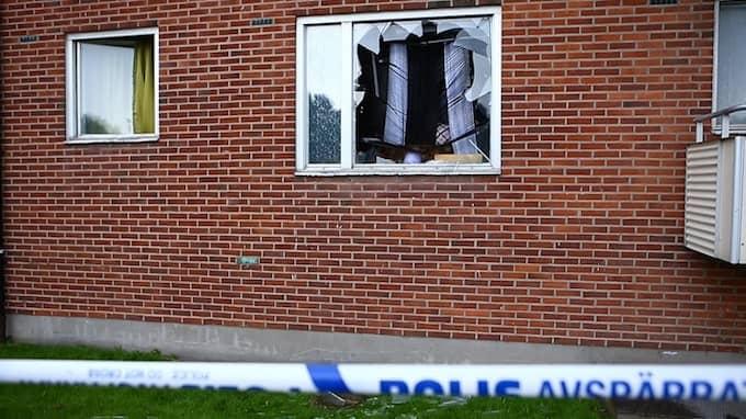 Här inne dog Yuusuf sedan en bomb briserat i rummet där han låg och sov. Foto: HENRIK JANSSON