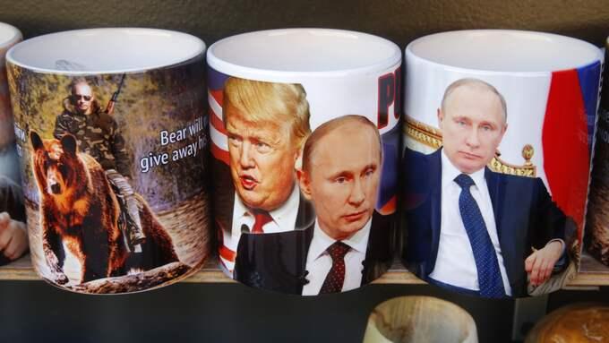 Putin och Trump är samma faktaföraktande andas barn. Foto: DMITRI LOVETSKY