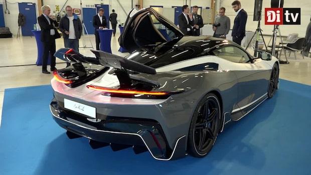 Se den nya superelbilen som krossar allt motstånd