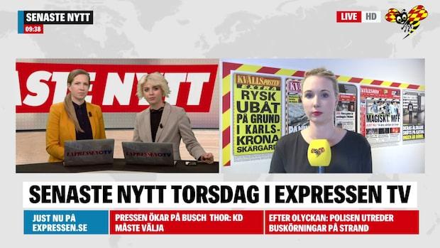 Här är morgonens nyheter från Sydsverige 4 juli