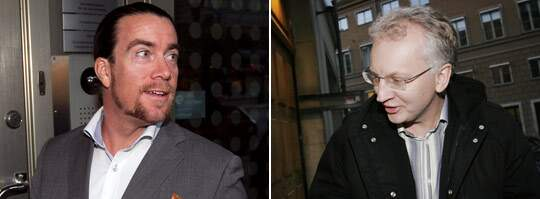 RÅDGIVARE. Förre finansministern Pär Nuder hjälpte partikamraten Jan Emanuel Johansson att sälja sitt välfärdsimperium. Foto: Stefan Forsell
