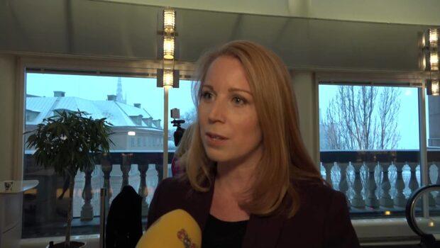 """Annie Lööf (C): """"Varken SD eller V kommer ha inflytande"""""""