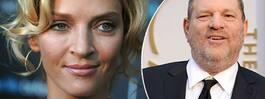Uma Thurmans stora  ilska mot Weinstein