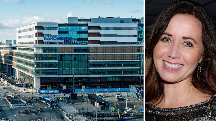 Filippa Reinfeldt i första tv-intervjun om skandalsjukhuset