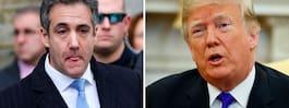 Trump: Fick inte Cohen  att bryta mot lagen