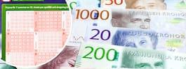 Supervinsten på Lotto  – vann 22,5 miljoner kr