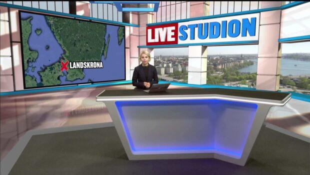 En skadad efter skottlossning i Landskrona