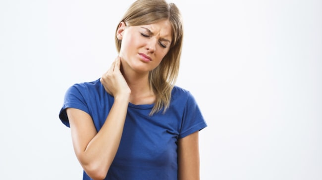 feber och ont i nacken