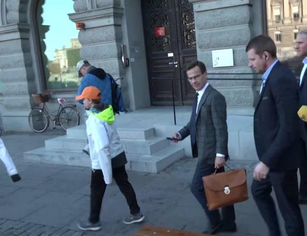 """Ulf Kristersson: """"Jag tror inte hans chanser att bilda regering är särskilt goda"""""""