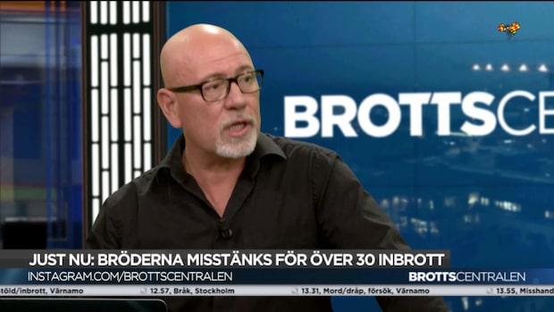 """""""Rykten i Europa att det är lätt att göra inbrott i Sverige"""""""