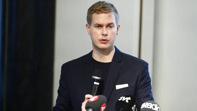 Utbildningsminister Gustav Fridolin (bild tagen på MP:s kongress) tog emot Ebba Östlins utredning... Foto: STEFAN JERREVÅNG/TT / TT NYHETSBYRÅN