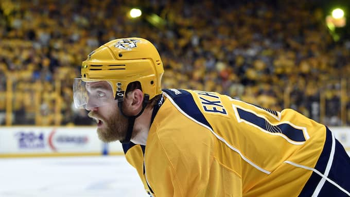 Mattias Ekholm, back i Nashville Predators. Foto: USA TODAY NETWORK
