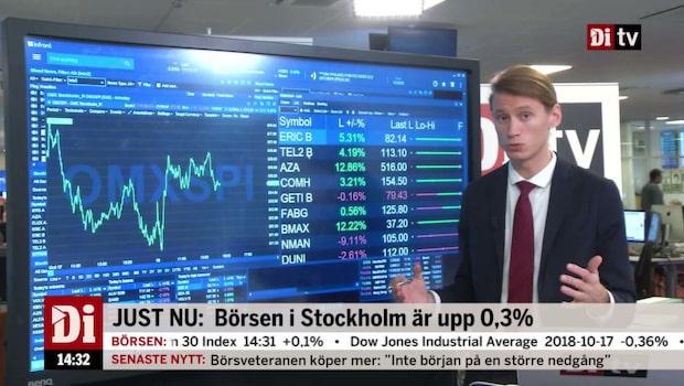 """Marknadskoll: """"Börsen lyfts av starka storbolagsrapporter"""""""