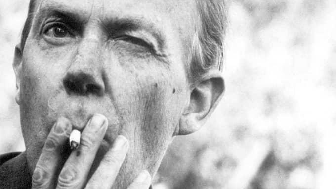 Gunnar Ekelöf (1907-1968) var svag för pekoral. Foto: LÜTFI ÖZKÖK
