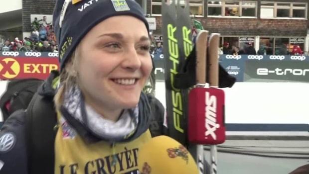 """Nilsson efter firandet: """"Kan bättre"""""""